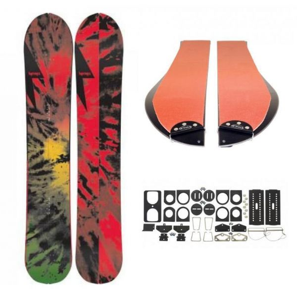Nitro Thunder Splitboard 166 Snowboard Package